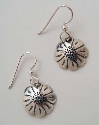 Daisy Dime Earrings