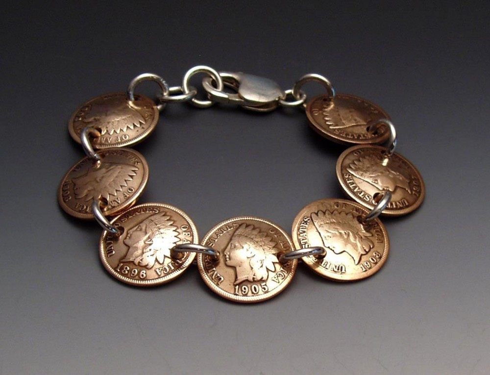 Buffalo Nickel Bracelet